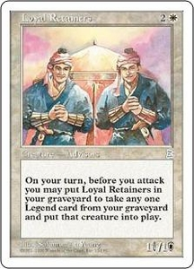 Magic the Gathering Portal Three Kingdoms Single Card Uncommon #12 Loyal Retainers