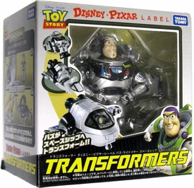 Disney / Pixar Label Toy Story 3 Transformers Buzz Lightyear [Monochrome Version]