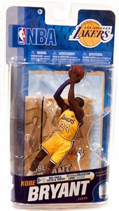 McFarlane Toys NBA Sports Picks Series 18 Action Figure Kobe Bryant (Los Angeles Lakers) Finals Patch & Purple Armband Silver Collector Level Chase Only 1,000 Made!