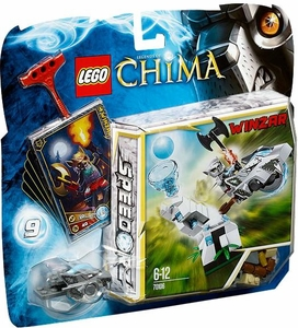 LEGO Legends of Chima Set #70106 Ice Tower [Winzar]
