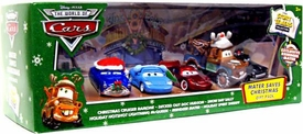 Disney / Pixar CARS Movie 1:55 Die Cast Holiday 2009 Story Tellers Collection 6-Pack Mater Saves Christmas [Includes Exclusive Reindeer Mater!]