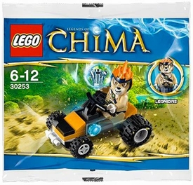 LEGO Legends of Chima Set #30250 Leonidas Jungle Dragster [Bagged]