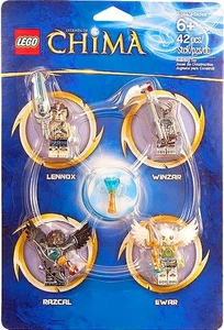 LEGO Legends of Chima Set #850779 Minifigure Accessory Set [Lennox, Razcal, Ewar & Winzar]