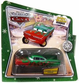 Disney / Pixar CARS Movie 1:55 Die Cast Story Tellers Collection Christmas Cruiser Ramone