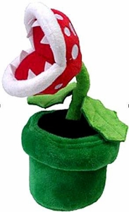 Super Mario Brothers 8 Inch Plush Piranha Plant