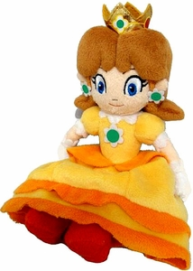 Super Mario Brothers 8 Inch Plush Princess Daisy