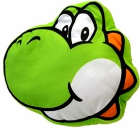 Super Mario Brothers Plush Pillow Yoshi Pre-Order ships March