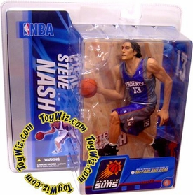McFarlane Toys NBA Sports Picks Series 10 Action Figure Steve Nash (Phoenix Suns) Purple Jersey Variant