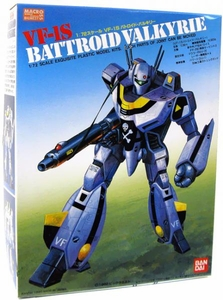 Robotech Macross Bandai Poseable Model Kit 1/72 Scale VF-1S Battroid Valkyrie