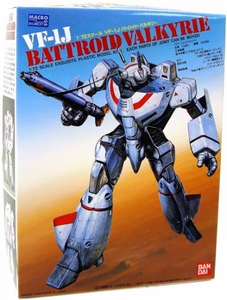 Robotech Macross Bandai Poseable Model Kit 1/72 Scale VF-1J Battroid Valkyrie
