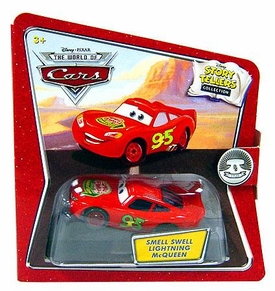 Disney / Pixar CARS Movie 1:55 Die Cast Story Tellers Collection Smell Swell Lightning McQueen