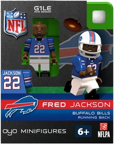 OYO Football NFL Building Brick Minifigure Fred Jackson [Buffalo Bills]