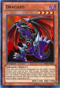 YuGiOh ZEXAL Shadow Specters Single Card Super Rare SHSP-EN092 Dragard