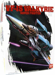 Robotech Macross Bandai Model Kit 1/72 Scale VF-1S Valkyrie Super Fighter