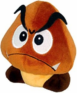 Super Mario Brothers 5 Inch Plush Goomba