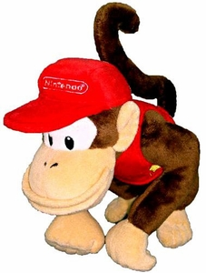 Super Mario Brothers San-Ei 6 Inch Plush Diddy Kong