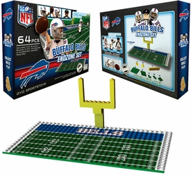OYO Football NFL Generation 1 Team Field Endzone Set Buffalo Bills