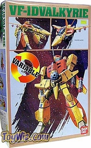 Macross Bandai 1/72 Scale Transforming Model Kit VF-1D Ostrich Trainer Valkyrie