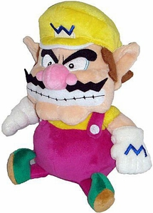 Super Mario Brothers 7 Inch Plush Figure Wario