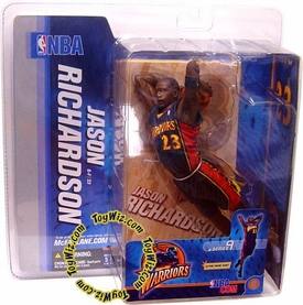 McFarlane Toys NBA Sports Picks Series 9 Action Figure Jason Richardson (Golden State Warriors) Blue Jersey
