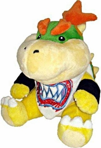 Super Mario Brothers 7 Inch Plush Bowser Jr.