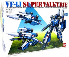 Robotech Macross Bandai 1/100 Scale Model Kit VF-1J Strike Valkyrie [Myria Fallina]