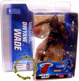 McFarlane Toys NBA Sports Picks Series 9 Action Figure Dwyane Wade (Miami Heat) Black Jersey
