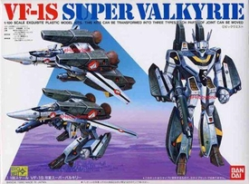 Robotech Macross Bandai 1/100 Scale Transforming Model Kit Super Valkyrie VF-1S