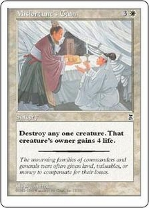 Magic the Gathering Portal Three Kingdoms Single Card Common #13 Misfortune's Gain