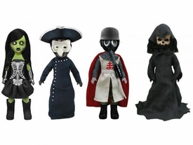 Mezco Toyz Living Dead Dolls Set of 4 The Four Horsemen Figures