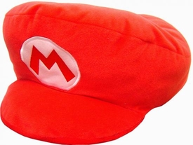 New Super Mario Brothers 13 Inch Plush Mario Pillow Hat [Not Wearable!]