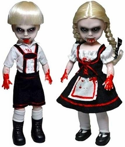 Mezco Toyz Living Dead Dolls Set of 2 Scary Tales Figures [Hansel & Gretel]