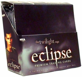 NECA Twilight Eclipse Movie Series 1 Trading Card Box [24 Packs]