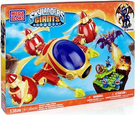 Skylanders Giants Mega Bloks Set #95418 Arkeyan Copter Attack
