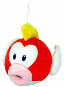 Super Mario Brothers 6 Inch Plush Cheep Cheep