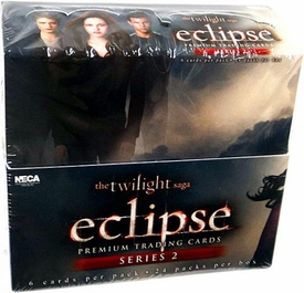 NECA Twilight Eclipse Movie Series 2 Trading Card Box [24 Packs]
