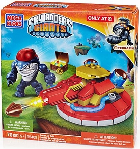 Skylanders Giants Mega Bloks Exclusive Set #95409 Turret Air Raid BLOWOUT SALE!
