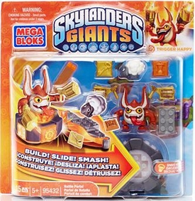Skylanders Giants Mega Bloks Set #95432 Trigger Happy's Battle Portal BLOWOUT SALE!