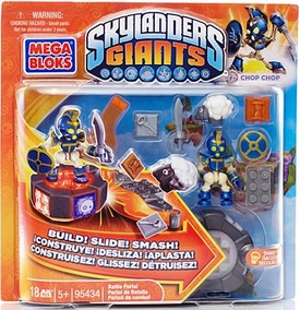 Skylanders Giants Mega Bloks Set #95434 Chop Chop's Battle Portal BLOWOUT SALE!