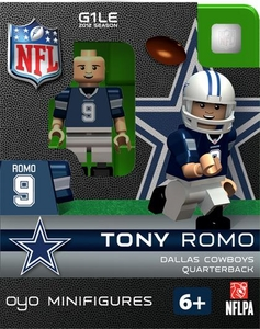 OYO Football NFL Building Brick Minifigure Tony Romo [Dallas Cowboys]