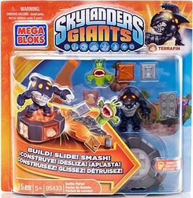 Skylanders Giants Mega Bloks Set #95433 Terrafin's Battle Portal
