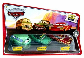 Disney / Pixar CARS Movie 1:55 Die Cast Story Tellers Collection 3-Pack Dusty Rust-Eze, Rusty Rust-Eze & Retro Ramone