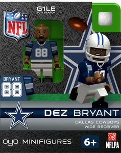OYO Football NFL Building Brick Minifigure Dez Bryant [Dallas Cowboys]