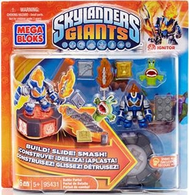 Skylanders Giants Mega Bloks Set #95431 Ignitor's Battle Portal