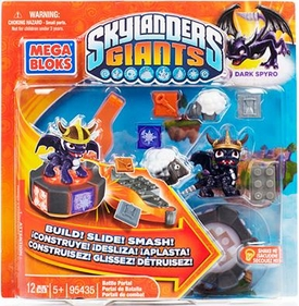 Skylanders Giants Mega Bloks Exclusive Set #95435 Dark Spyro's Battle Portal