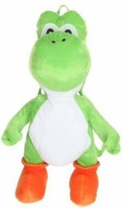 Super Mario Bros. Plush Backpack Yoshi