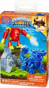 Skylanders Giants Mega Bloks Set #95424 Translucent Bash