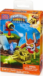 Skylanders Giants Mega Bloks Set #95425 Trigger Happy with Gatling Gun BLOWOUT SALE!