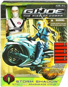 GI Joe Movie The Rise of Cobra Exclusive 12 Inch Action Figure Storm Shadow