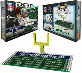 OYO Football NFL Generation 1 Team Field Endzone Set Dallas Cowboys